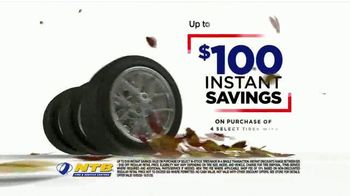 National Tire & Battery Big October TV Spot, 'Instant Savings and Rewards Card on Continental Tires' - Thumbnail 4