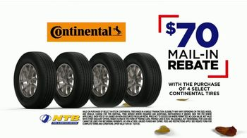 National Tire & Battery Big October TV Spot, 'Instant Savings and Rewards Card on Continental Tires' - Thumbnail 5