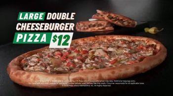 Papa John's Double Cheesburger Papadia and Pizza TV Spot, 'Cheeseburger Rapids' - Thumbnail 9
