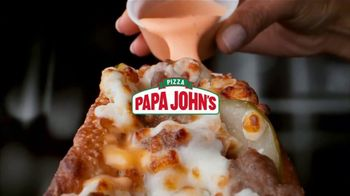 Papa John's Double Cheesburger Papadia and Pizza TV Spot, 'Cheeseburger Rapids' - Thumbnail 1