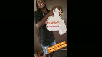 Popeyes TV Spot, 'ScribeMusic: Free Delivery' - Thumbnail 5