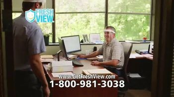 Fresh View TV Spot, 'Protect Your Eyes, Nose and Mouth' - Thumbnail 7
