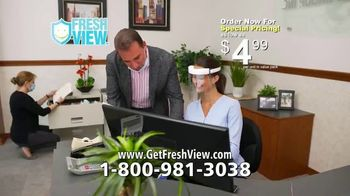 Fresh View TV Spot, 'Protect Your Eyes, Nose and Mouth' - Thumbnail 8