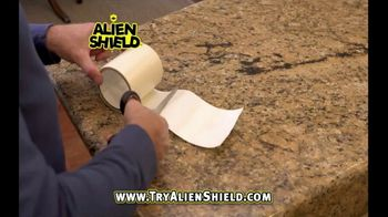 Alien Shield TV Spot, 'Peel and Stick' - Thumbnail 1