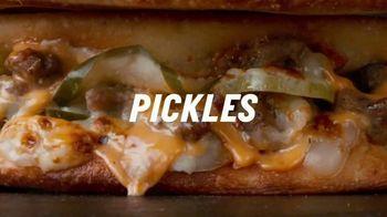 Papa John's Double Cheeseburger Papadia TV Spot, 'Meat Bounces' Song by Zapp - Thumbnail 7