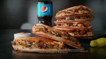 Papa John's Double Cheeseburger Papadia TV Spot, 'Meat Bounces' Song by Zapp - Thumbnail 8
