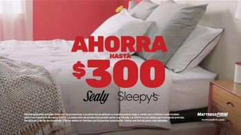 Mattress Firm Save Big Sale TV Spot, 'Sealy colchón queen: $299.99 dólares' [Spanish] - Thumbnail 2