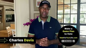 Vote for Your Life TV Spot, 'CBS Sports: Game Plan' Featuring Ian Eagle, Jamie Erdahl, Charles Davis, Tracy Wolfson - 46 commercial airings