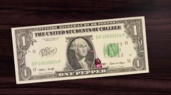 Dr Pepper 2020 Tuition Giveaway TV Spot, 'More Bigger' - 1169 commercial airings