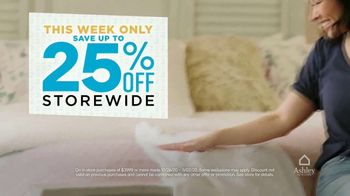 Ashley HomeStore 2 Biggest Days to Save TV Spot, '25% Off: Extended' - Thumbnail 2