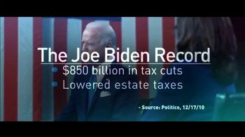 Independence USA PAC TV Spot, 'Biden: Taxes' - Thumbnail 4
