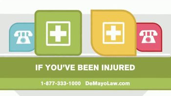 Law Offices of Michael A. DeMayo TV Spot, 'Life After an Accident'