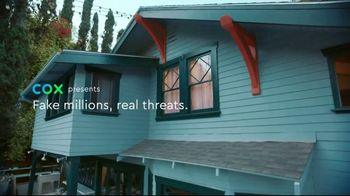 Cox Panoramic Wifi TV Spot, 'Fake Millions, Real Threats' - Thumbnail 1