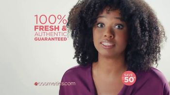 eCosmetics TV Spot, 'Save Up to 50% on Every Major Brand of Makeup' - Thumbnail 8