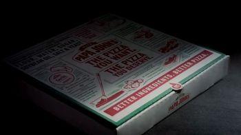 Papa John's Jack-O'-Lantern Pizza TV Spot, 'Spookiest' - Thumbnail 1