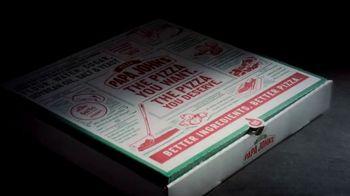 Papa John's Jack-O'-Lantern Pizza TV Spot, 'Spookiest' - Thumbnail 2