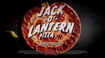 Papa John's Jack-O'-Lantern Pizza TV Spot, 'Spookiest' - Thumbnail 6