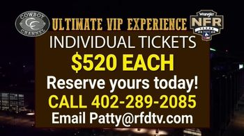 The Cowboy Channel TV Spot, '2020 NFR: VIP Package' - Thumbnail 10