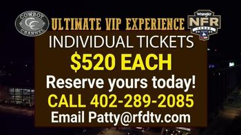 The Cowboy Channel TV Spot, '2020 NFR: VIP Package' - Thumbnail 9