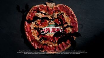 Papa John's Jack-O'-Lantern Pizza TV Spot, 'Tricks' - Thumbnail 6