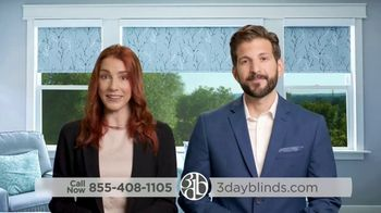 3 Day Blinds TV Spot, 'Every Step of the Way'