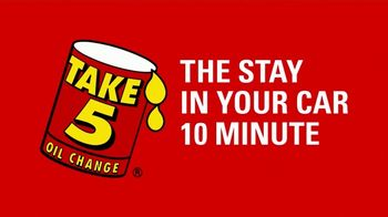 Take 5 Oil Change TV Spot, 'New Routines Are Hard' - Thumbnail 4