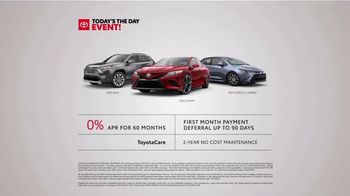Toyota Today's the Day Event TV Spot, 'Outsmart' Song by Bob Marley and the Wailers [T2] - Thumbnail 8