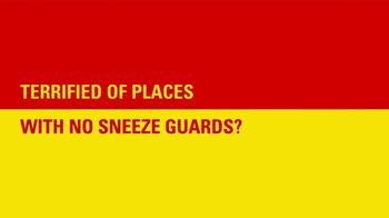 Take 5 Oil Change TV Spot, 'Tired of Places With No Sneeze Guards?' - Thumbnail 2