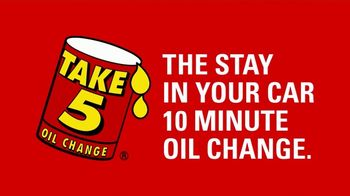 Take 5 Oil Change TV Spot, \'Tired of Places With No Sneeze Guards?\'