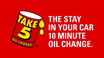Take 5 Oil Change TV Spot, 'Tired of Places With No Sneeze Guards?' - Thumbnail 8