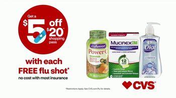 CVS Health TV Spot, 'Superhero: $5 Off $20 With Flu Shot: Mucinex' - Thumbnail 9