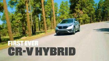2020 Honda CR-V Hybrid TV Spot, 'The Honda Hybrid Road: Make a Difference' Song by Grace Mesa [T2] - Thumbnail 1