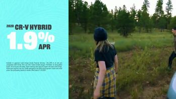 2020 Honda CR-V Hybrid TV Spot, 'The Honda Hybrid Road: Make a Difference' Song by Grace Mesa [T2] - Thumbnail 6