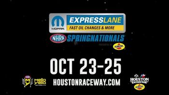 Houston Raceway TV Spot, '2020 Mopar Express Lane NHRA SpringNationals' - Thumbnail 4