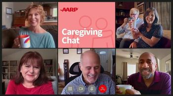 AARP Services, Inc. TV Spot, 'Virtual Offering: Caregiving Chat' - 3182 commercial airings
