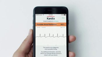 AliveCor KardiaMobile TV Spot, 'Check Your Heart From Home' - Thumbnail 6