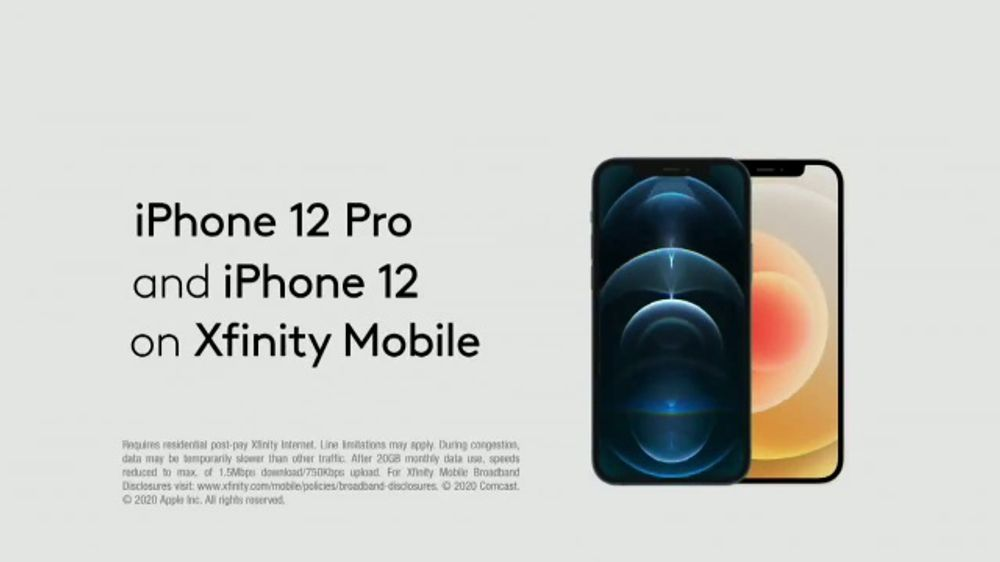 XFINITY Mobile TV Commercial, 'Go Your Own Way: iPhone 12 ...