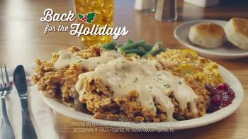 Cracker Barrel Old Country Store and Restaurant Country Fried Turkey TV Spot, 'Holiday Return' - Thumbnail 3