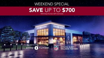 Sleep Number Weekend Special TV Spot, 'Temperature Balance: Winter: Save up to $700' - Thumbnail 6