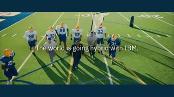 IBM Cloud TV Spot, 'Hybrid Approach: Football' Featuring Mike Singletary - Thumbnail 8