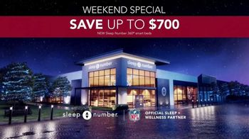Sleep Number Weekend Special TV Spot, 'Temperature Balance: Winter: Save up to $700' - Thumbnail 9