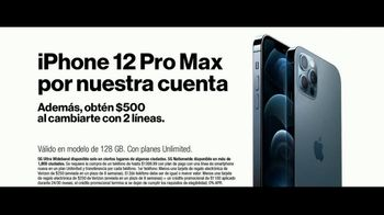 Verizon TV Spot, 'Fiestas: iPhone 12 Pro Max con planes ilimitados' [Spanish] - Thumbnail 3