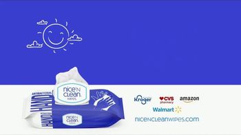 Nice 'N Clean Antibacterial Hand Wipes TV Spot, 'Healthy Shopping' - Thumbnail 9