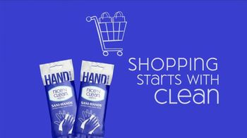 Nice 'N Clean Antibacterial Hand Wipes TV Spot, 'Healthy Shopping' - Thumbnail 2