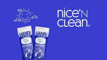 Nice 'N Clean Antibacterial Hand Wipes TV Spot, 'Healthy Shopping'