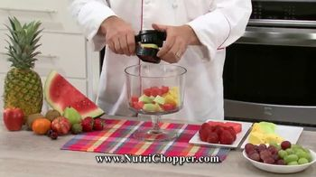 NutriChopper TV Spot, 'Quick & Easy Meals'