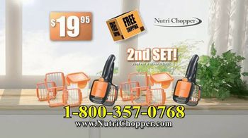 NutriChopper TV Spot, 'Quick & Easy Meals' - Thumbnail 5