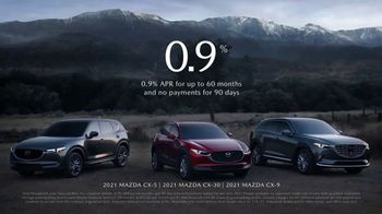 Mazda Season of Inspiration Sales Event TV Spot, 'Holidays: When Inspiration Strikes' Song by WILD [T2] - 1128 commercial airings