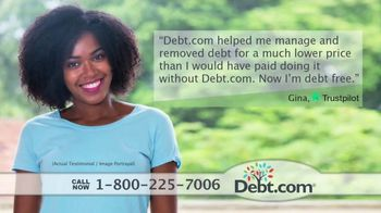 Debt.com TV Spot, 'Your Are Not Alone'