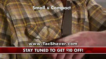 Bell + Howell Tac Shaver TV Spot, 'Double Offer: $10 Off' - Thumbnail 4